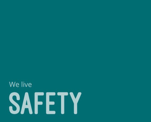 Values - We live safety