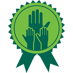 award-hands icon