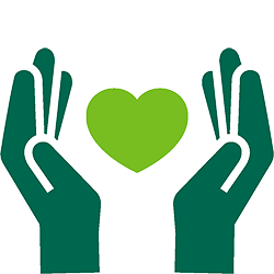 community-impact-hands-heart-edison-green-icon icon