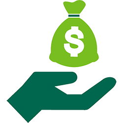 donation-money-bag-edison-green-icon icon