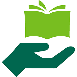 giving-education-book-edison-green-icon icon